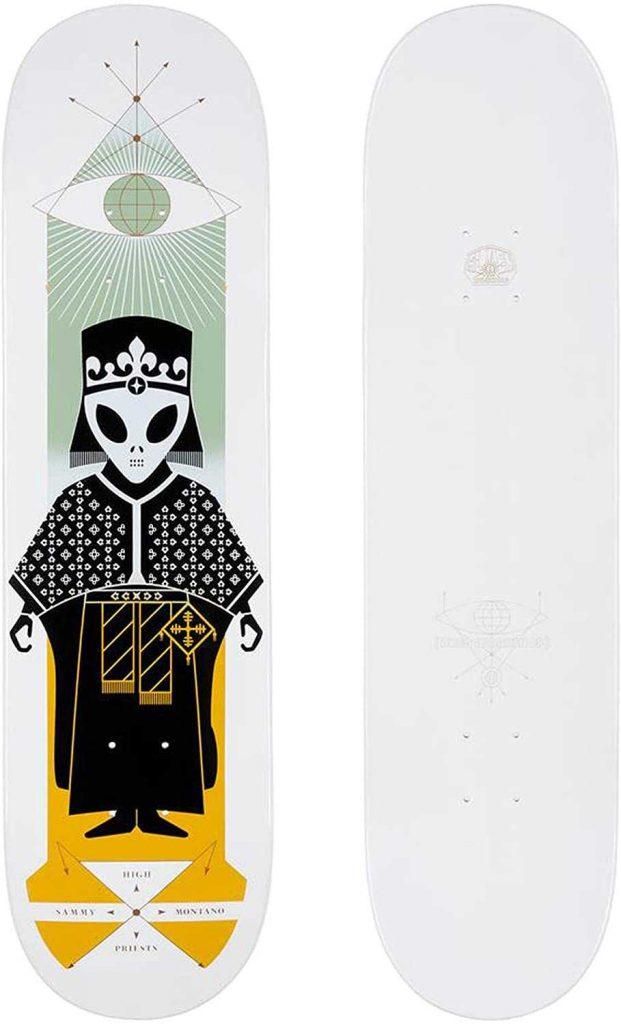 Alien Workshop Skateboard  - one of the coolest skateboard decks I've seen