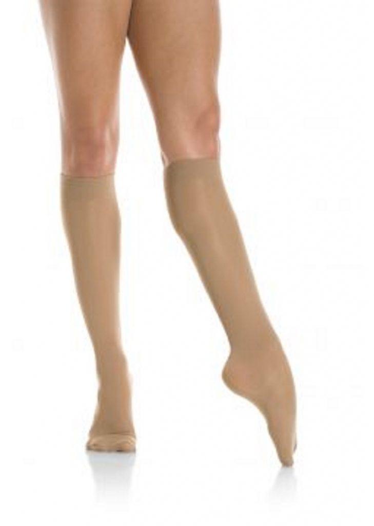 Mondor Light Opaque Knee High Skating Socks