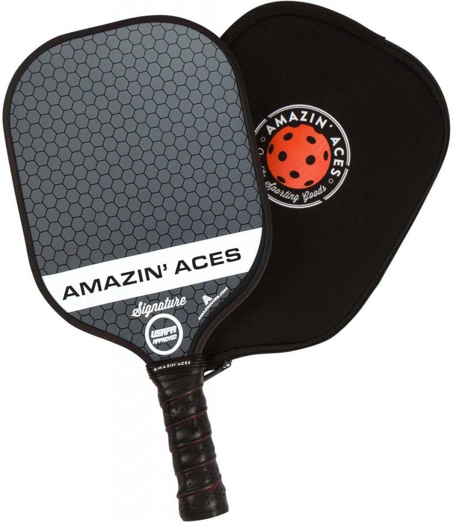 best pickleball paddles for beginners Amazin Aces Signature Paddle